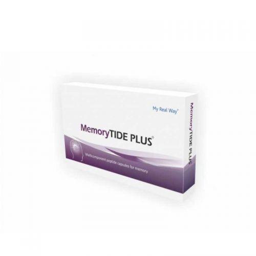 """Пептиди MyRealWay Мемори """"MemoryTIDE PLUS"""" 30 капсули"""