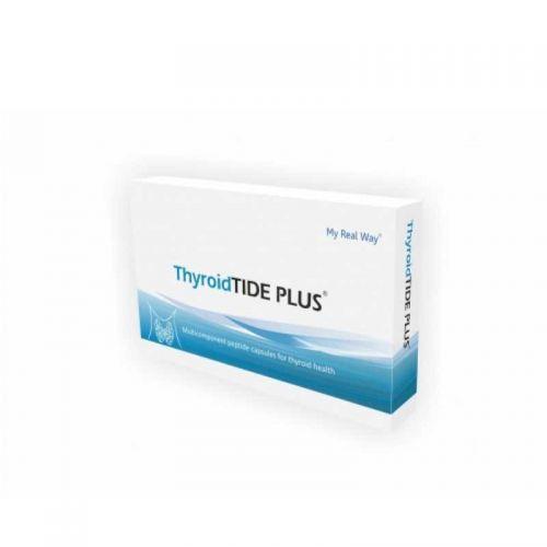 Тироид - ThyroidTIDE PLUS подпомага възстановяването на нормалната функция на щитовидната жлеза.