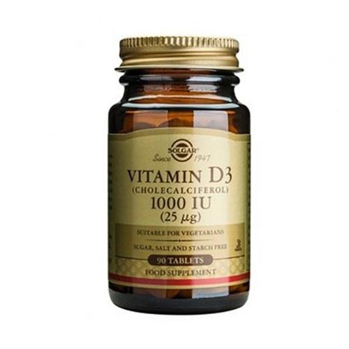 Витамин Д -90 капсули Солгар Vitamin D3_1000IU_90 softgels