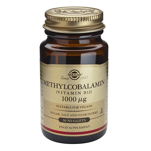 Витамин б12 метилкобаламин Methylcobalamin_1000μg