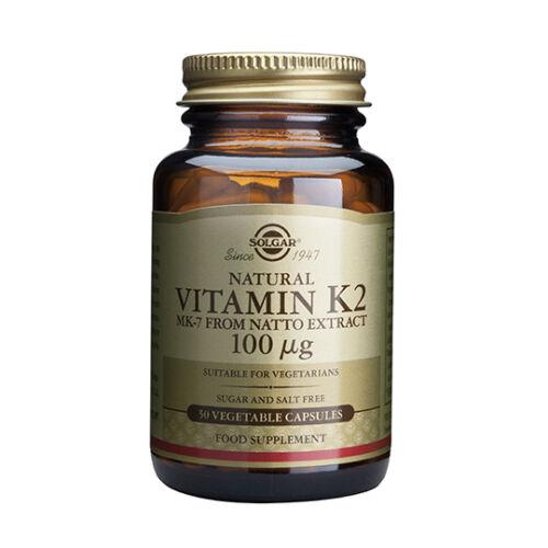 Витамин к2 50 капсули Солгар Vitamin K2_100μg_50 veg. caps