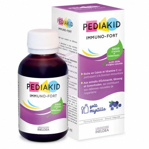 Имуно Фор сироп за имунитет Педиакид pediakid-immuno-fort