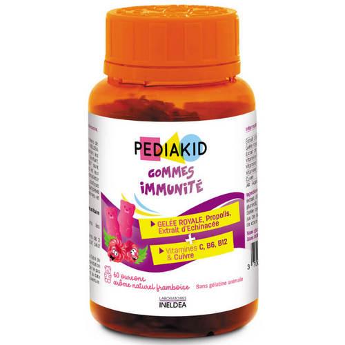 дъвчащи мечета за имунитет педикаид gommes-immunite-pediakid