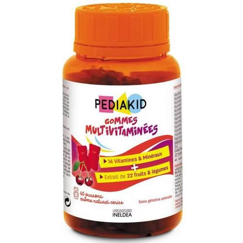 дъвчащи мечета мултивитамин педиакид gommes-multivitamines-pediakid