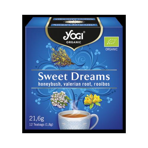 успокояващ чай сладки сънища yogi tea