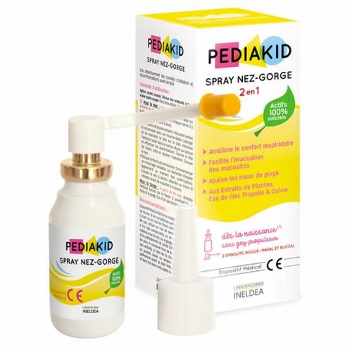 спрей за нос и гърло за деца педиакид spray-nez-gorge
