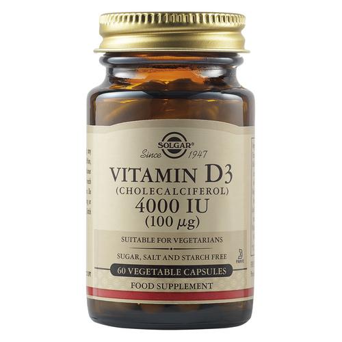 Витамин Д - Солгар-Vitamin D3_4000IU_60 veg. caps
