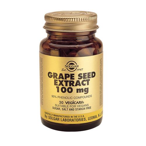 Екстракт от гроздови семки 30 таб 100мг. Солгар