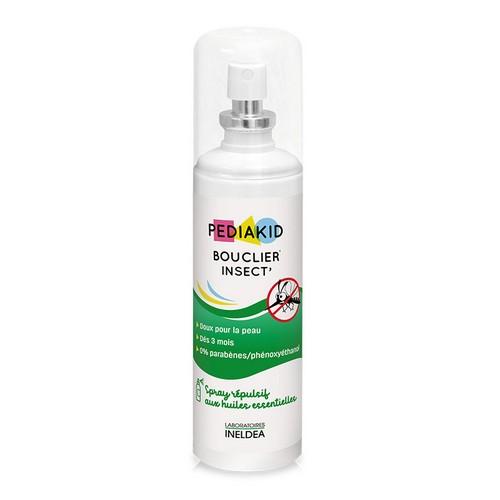 натурален спрей против комари и насекоми, за бебета и деца pediakid